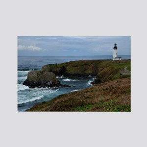 Yaquina Head Lighthouse Rectangle Magnet